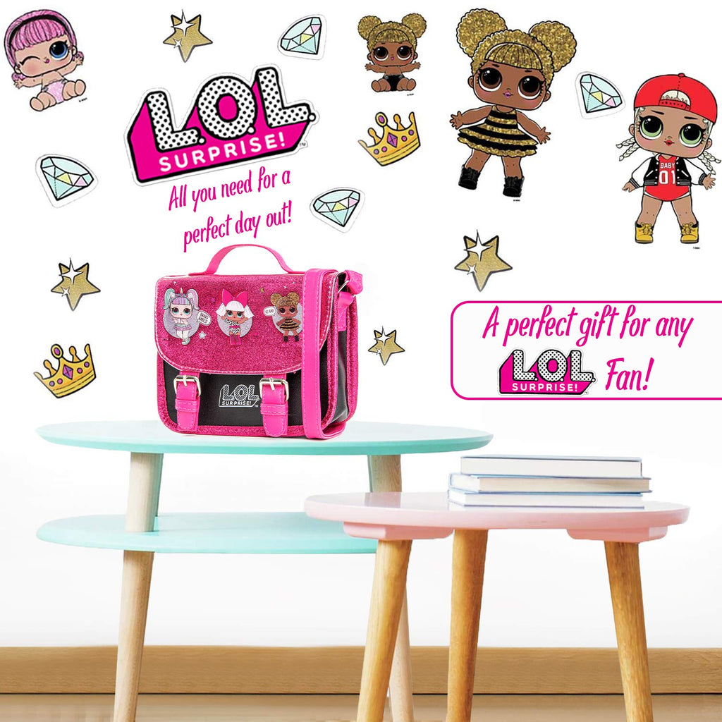 L.O.L. Surprise ! LOL Dolls Handbag Featuring Glitterati Doll Unicorn