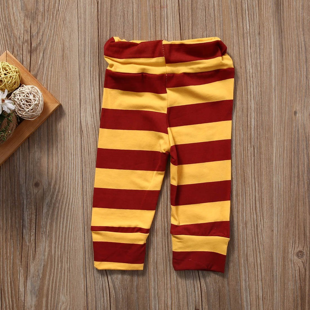 Baby Muggle Bodysuit top and pants Outfit with Hat