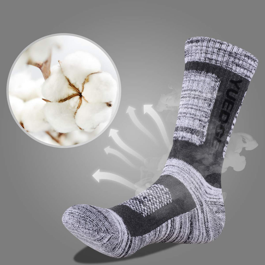 Men's 5 Pairs Breathable Cushion Anti Blister Socks