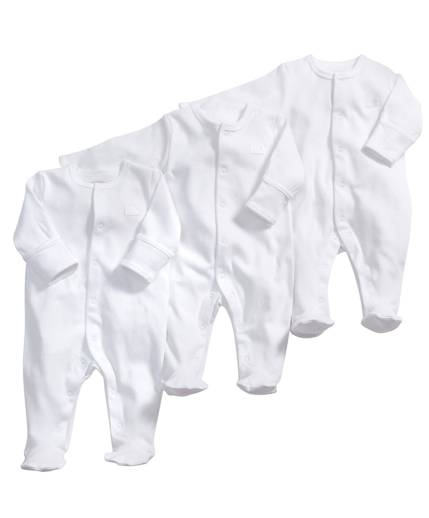Mamas and Papas Baby 3 Pack All in One Bodysuit Set