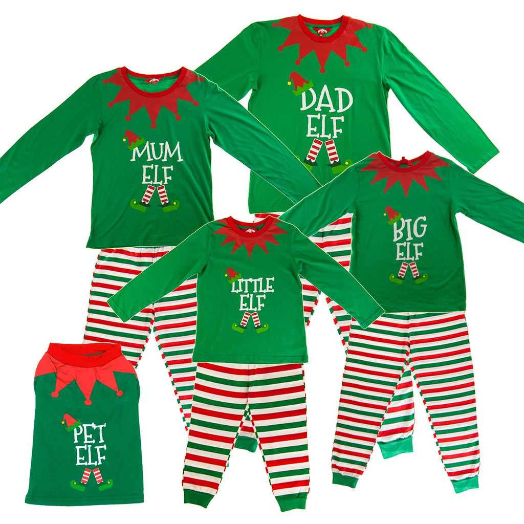 Made By Elves Matching Family Christmas Pyjamas