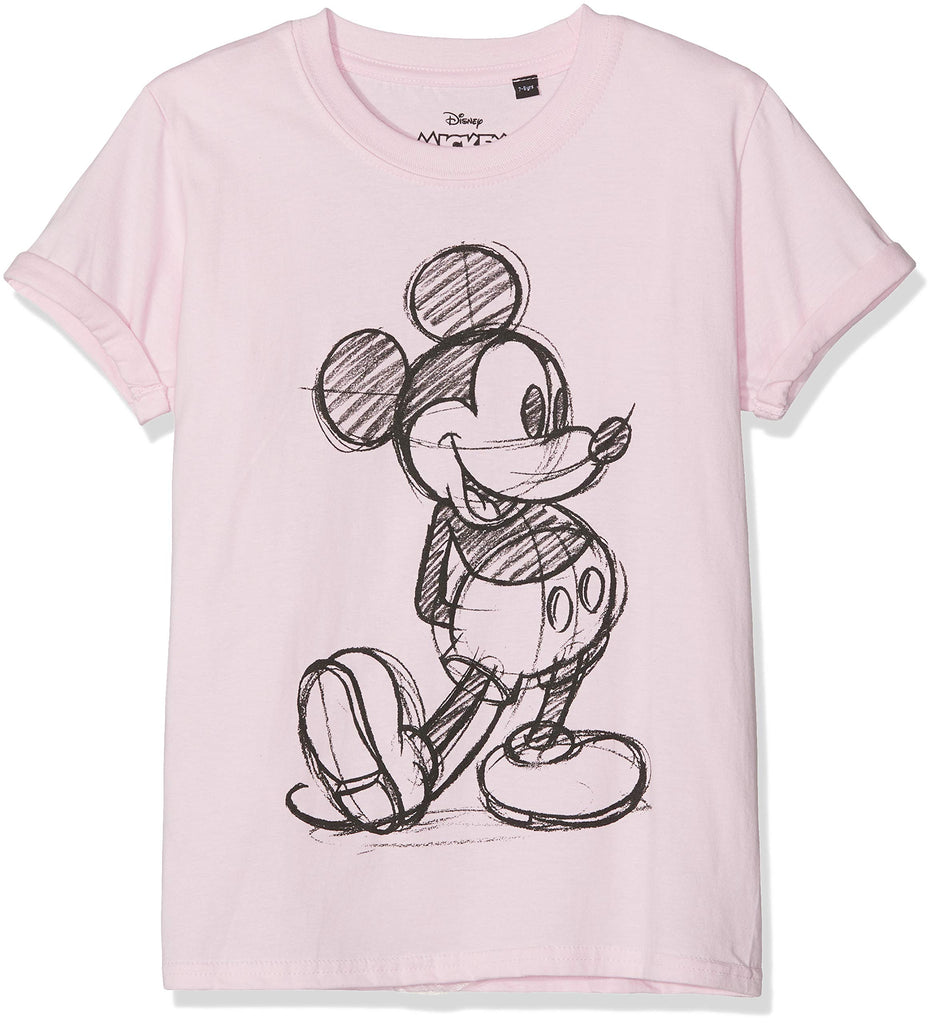 Disney Girl's Minnie's Bow T-Shirt