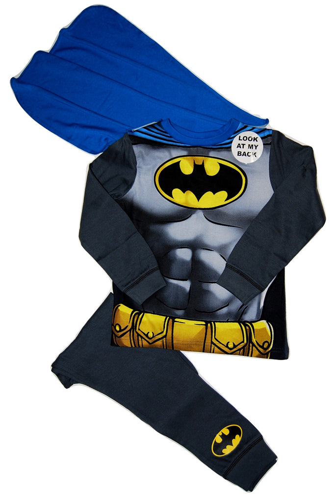 Marvel Super Hero Batman Dress Up PJs Pyjamas