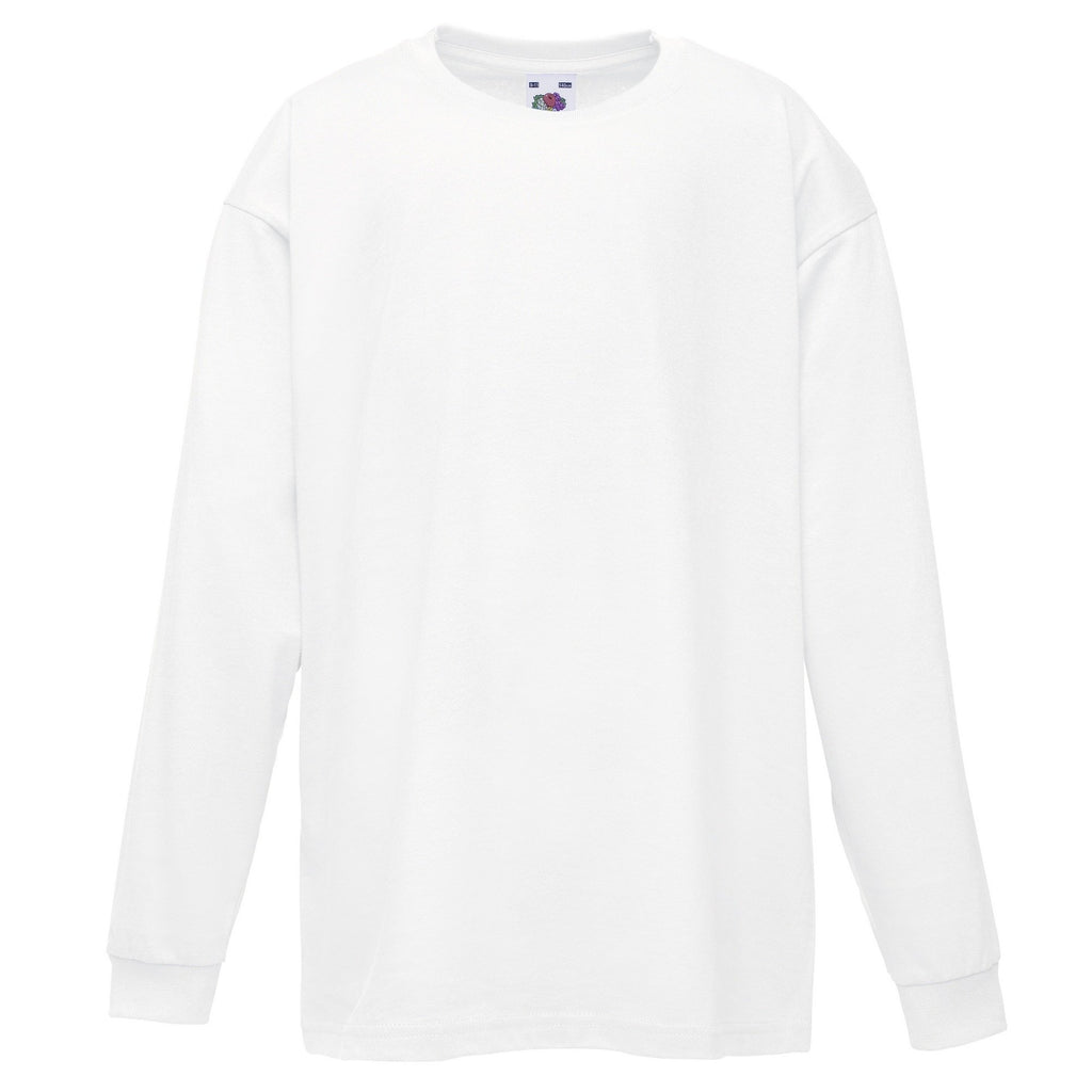 Fruit of the Loom Kids Long Sleeve T-Shirt