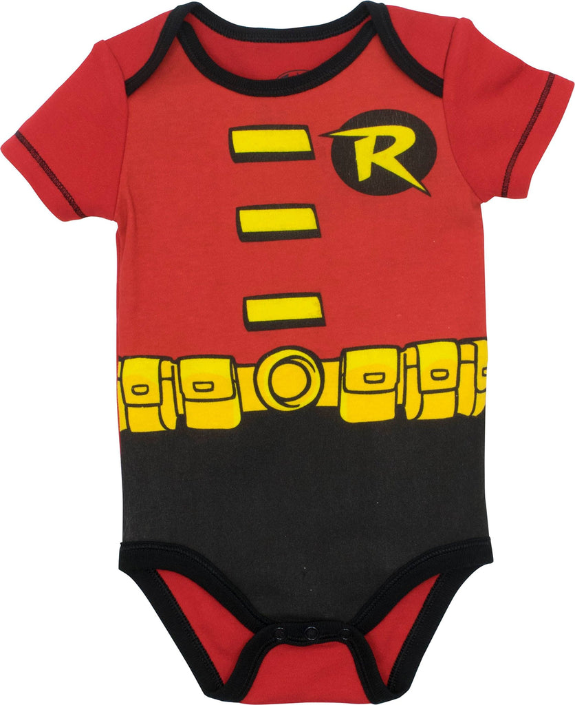 Warner Bros. Baby Boys' 5 Pack Bodysuits