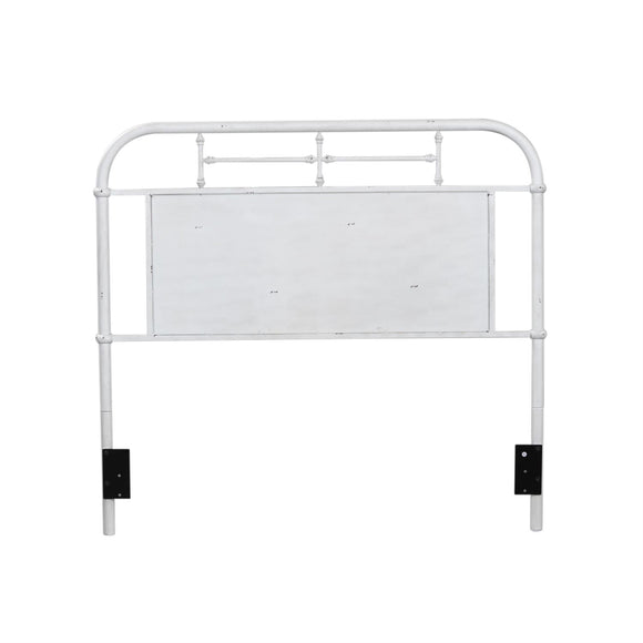 Twin Metal Headboard - White