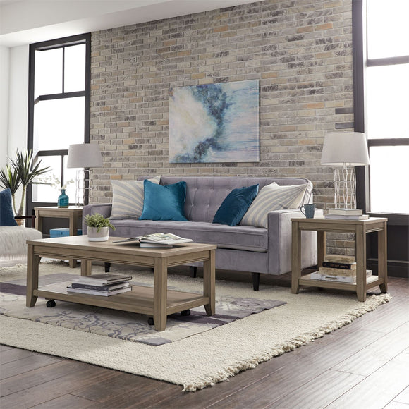 3 Piece Weathered Table Group