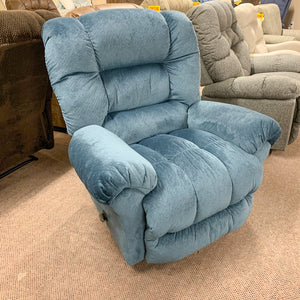 Seger Cornflower Rocker Recliner