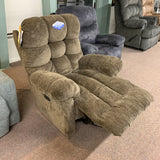 Brosmer Cocoa Power Recliner With Power Headrest