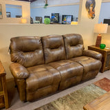 Leather Saddle Zaynah Sofa