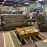 Everlasting Cocoa Reclining Sofa