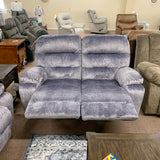 Ryson Smoke Reclining Loveseat