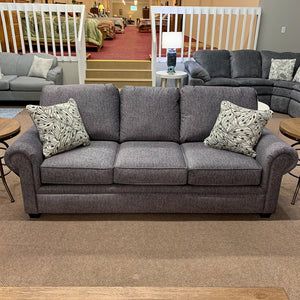 Brett Gem Black Sofa