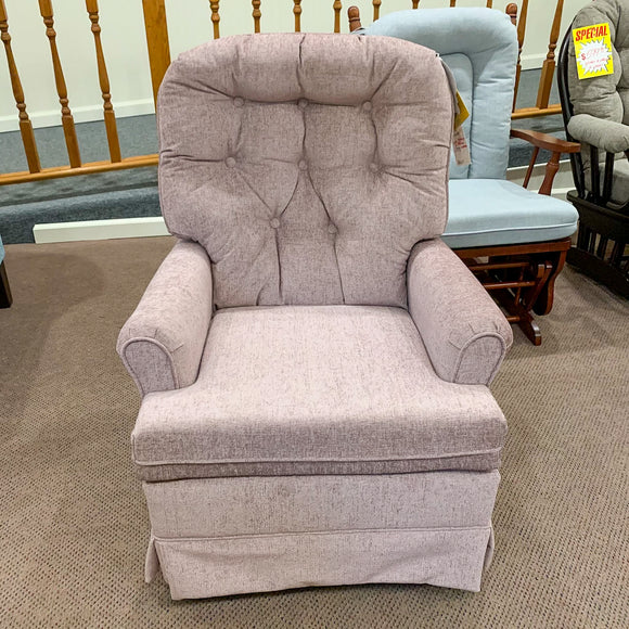 Mauve Swivel Chair