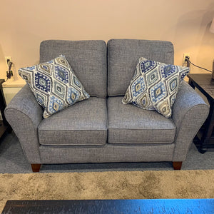 Paxton Aztel Denim Loveseat