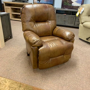 Leather Saddle Zaynah Recliner
