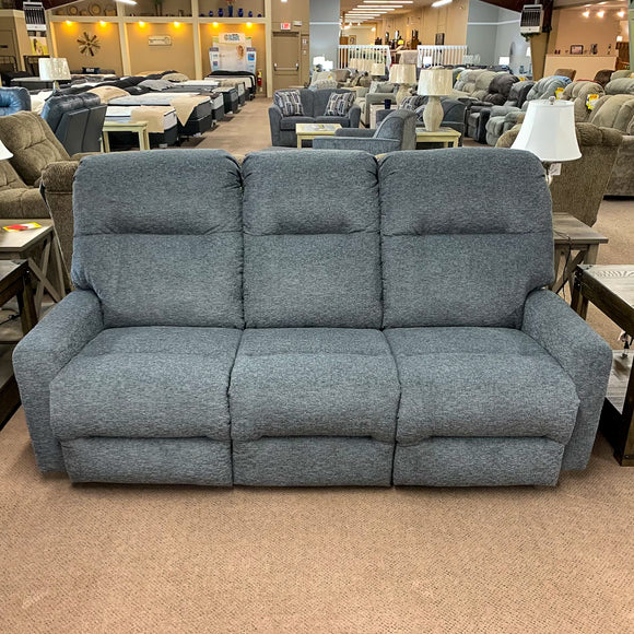 Kenley Charcoal Reclining Sofa