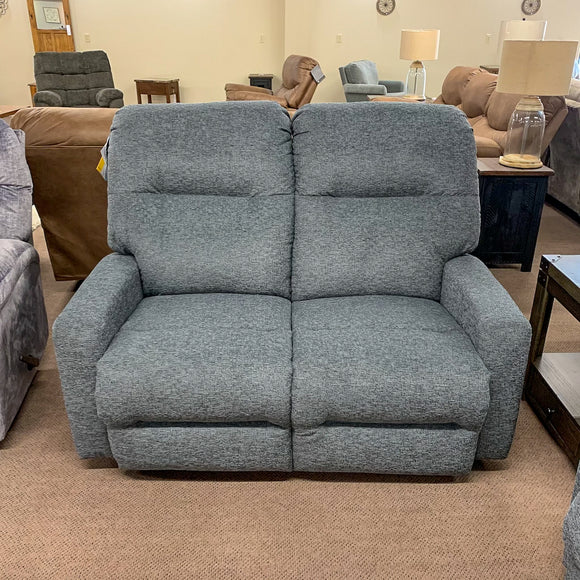Kenley Charcoal Reclining Loveseat