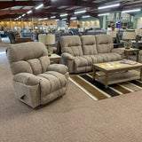 Retreat Wheat Reclining Loveseat