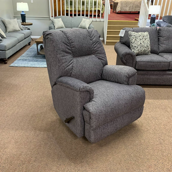 Gem Black Rocker Recliner
