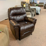 Bodie Chocolate Leather Lift Chair