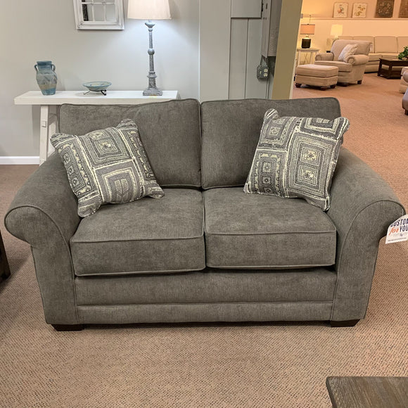 Brantley Jillian Graphite Loveseat
