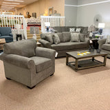 Brantley Jillian Graphite Sofa
