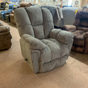 Lucas Charcoal Rocker Recliner