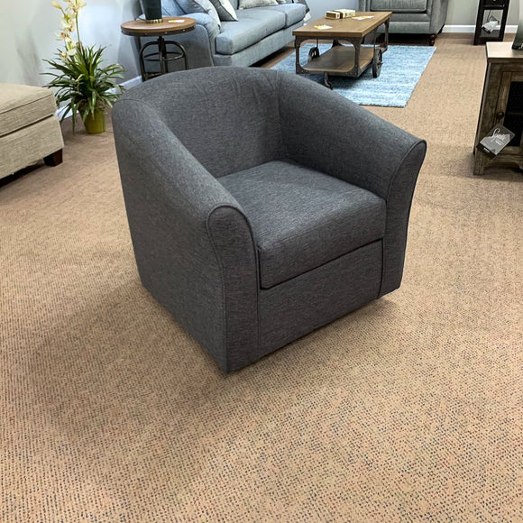 Jitterbug Gray Swivel Chair
