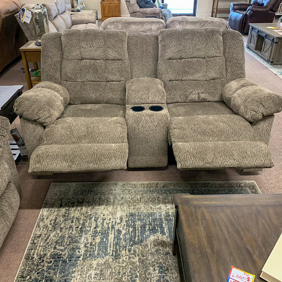 Desmond Reclining Loveseat with Console