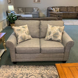 Rumble Smoke Loveseat