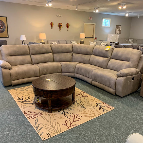 Charleston El Toro Cement Reclining Sectional