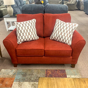 Paxton Anello Cranapple Loveseat