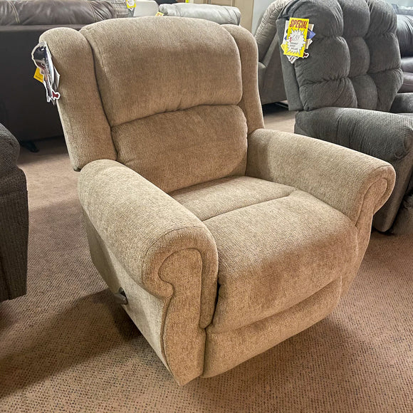 Terrill Portobello Swivel Rocker Recliner