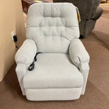 Sondra Powder Blue Power Wallsaver Recliner