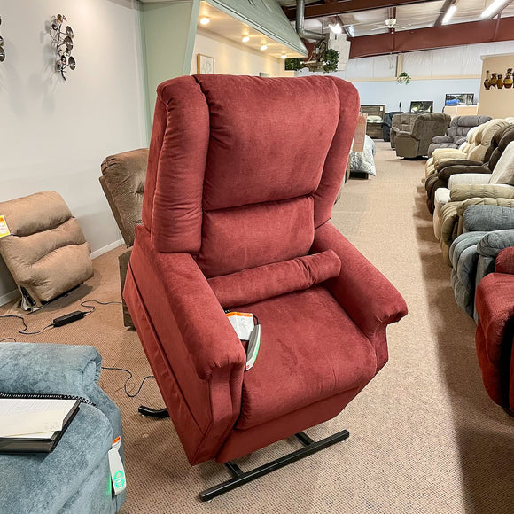 Juno Burgundy Lift Chair