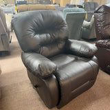 Maddox Leather Chocolate Wallsaver Recliner