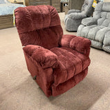 McGinnis Merlot Rocker Recliner