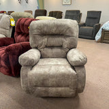 Maddox Paloma Grey Swivel Rocker Recliner