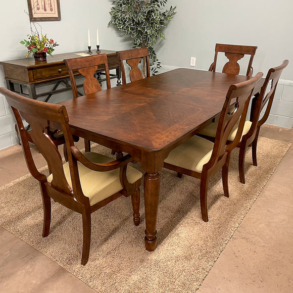 Hudson Rectangular Table & 6 Chairs