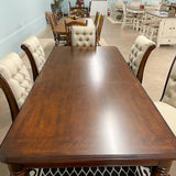 Coldstone Rectangular Table & 6 Chairs
