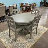 Moe Gray Dining Table & 4 Chairs