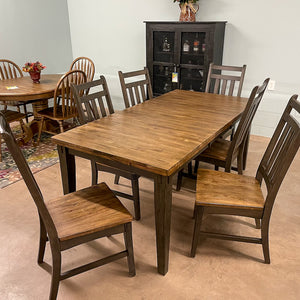 Shelton Table & 6 Chairs