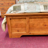 Caramel Queen Panel Bed