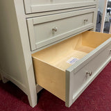 Moe Gray 5-Drawer Storage Chest