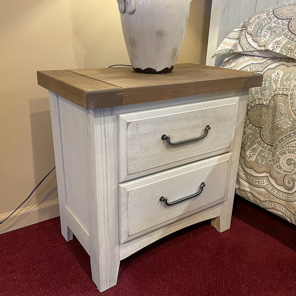 White Arch Nightstand