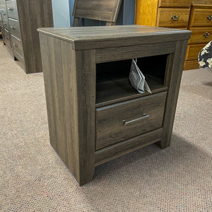 Weathered Single Drawer Night Stand