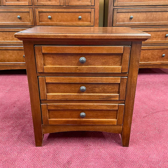 Moe Cherry 2-Drawer Nightstand