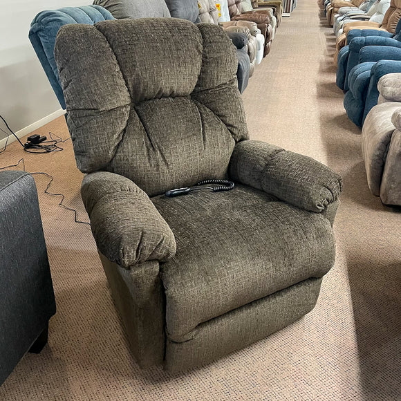 Romulus Chocolate Power Wallsaver Recliner