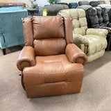 Genet Leather Whisky Rocker Recliner